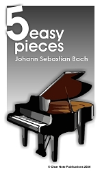 Bach - 5 Easy Pieces for Piano eBook